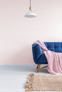 Light pink living room Royalty Free Stock Photo