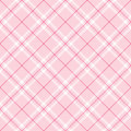 Light Pink Plaid Royalty Free Stock Photo