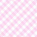 Light pink Plaid Fabric Background Stock Photo