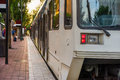 Light rail Transit Royalty Free Stock Photo