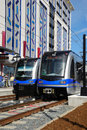 Light Rail Transit System Stock Photos