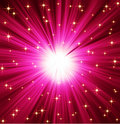 Light Rays Stars Background Royalty Free Stock Photo