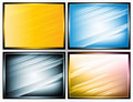 Light and shade stripes,  Royalty Free Stock Images