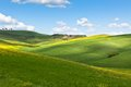 Light and shadows on Tuscan hills Stock Image