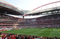 Light stadium or estadio da luz th july after the game between benfica and real madrid cristiano ronaldo club during eusebio cup Stock Photos