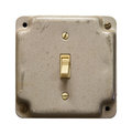 Light switch Royalty Free Stock Photo