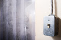 Light switch Royalty Free Stock Images