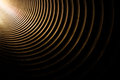 Light in the tunnel Royalty Free Stock Photo