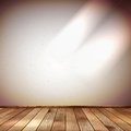 Light wall with a spot illumination eps this is editable vector illustration Royalty Free Stock Images