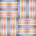 Lighted stripes 1 Stock Image