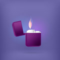 Lighter violet vector illustration Stock Image