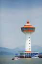 Lighthouse of andaman club thailand Royalty Free Stock Photography