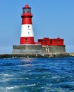 Lighthouse belonging to grace darling farne island Royalty Free Stock Photography