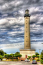 Lighthouse in Biarritz - France Royalty Free Stock Photo