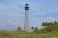Lighthouse the at bill baggs cape state park in florida Stock Photography