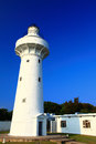 Lighthouse and blue sky the Stock Photography