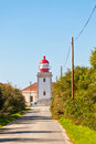 Lighthouse of Cabo Sardao, Portugal Royalty Free Stock Photo