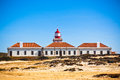 Lighthouse of Cabo Sardao, Portugal Stock Photo