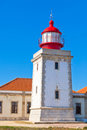 Lighthouse of Cabo Sardao, Portugal Royalty Free Stock Image