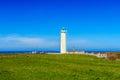 Lighthouse at Cap-dAntifer, Seine Maritime, France Royalty Free Stock Photo