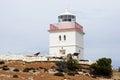 Lighthouse of cape borda kangaroo island australia Royalty Free Stock Photography