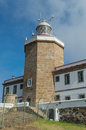 Lighthouse of cape finisterre end camino de santiago Royalty Free Stock Image