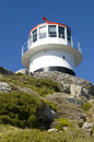 Lighthouse cape of good hope south africa located at the southwestern tip in the section the table mountain national park point Stock Image