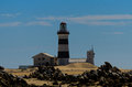 Lighthouse cape recife port elizabeth south africa Royalty Free Stock Photography