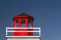 Lighthouse closeup view of old structure Stock Photo