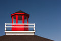 Lighthouse closeup view of old structure Stock Photography