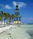 Lighthouse, Cuba Stock Photo
