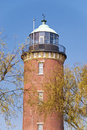 Lighthouse cuxhaven of in germany Royalty Free Stock Photos