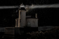 Lighthouse in the Darkness Royalty Free Stock Photo