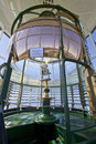 Lighthouse First Order Fresnel Lens Royalty Free Stock Photo