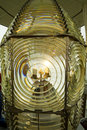 Lighthouse Fresnel Lens Royalty Free Stock Photo