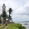 Lighthouse Galle Stock Photo