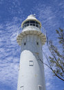 Lighthouse grand turk the historic on turks caicos islands Stock Image