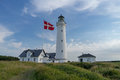 Lighthouse of Hirtshals in denmark
