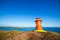 Lighthouse in iceland Royalty Free Stock Images