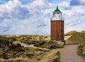 Lighthouse at Kampen Royalty Free Stock Photo