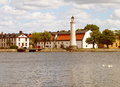 Lighthouse in Karlskrona. Royalty Free Stock Photo