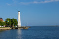 Lighthouse in Karlskrona, Sweden Royalty Free Stock Photo