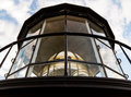 Lighthouse Lamp Room with Fresnel Lens Royalty Free Stock Photo
