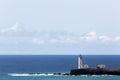 Lighthouse Maria Pia, Praia, Cape Verde Royalty Free Stock Photo