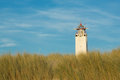 Lighthouse Noordwijk, The Netherlands Royalty Free Stock Photo