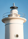Lighthouse at the northsea germany Royalty Free Stock Image