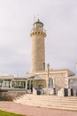 Lighthouse Patras, Peloponnese, Greece Royalty Free Stock Photo
