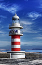 Lighthouse photo taken at arinaga gran canaria Royalty Free Stock Photos