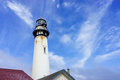 Lighthouse pigeon point in california usa Stock Photos