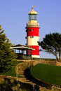 Lighthouse in Plymouth Royalty Free Stock Photography